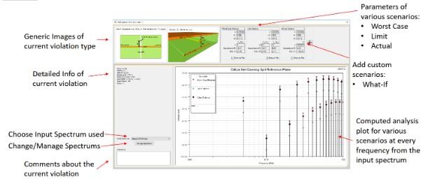 Rys. 7. Interfejs graficzny dodatki EMI Xplorer
