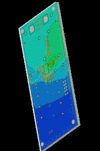 modelowanie płytki PCB